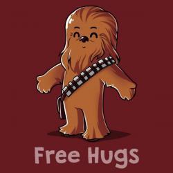 Chewbacca Hug a Wookiee t-shirt   Official Star Wars Tee – TeeTurtle