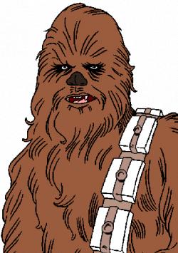 Star Wars Chewbacca Clipart