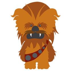 Vinilos Infantiles: Chewbacca | star wars | Pinterest