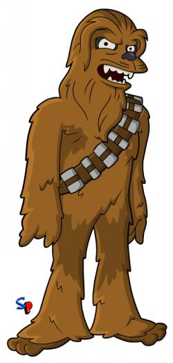 Springfield Punx: Star Wars; Chewbacca