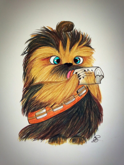 Chewbacca Drawing at GetDrawings.com | Free for personal use ...