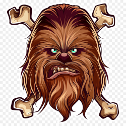 Chewbacca Anakin Skywalker Leia Organa Star Wars - chewbacca png ...