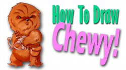How To Draw Chewbacca - YouTube