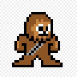 Mega Man 9 Mega Man X Pixel art Video game - chewbacca png download ...