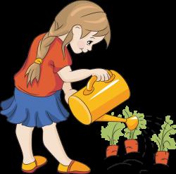 Watering Flowers Clip Art | Tavasz/Spring | Pinterest | Clip art and ...