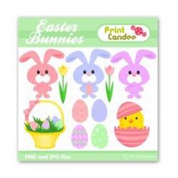 INSTANT DOWNLOAD - Digital Clip Art - Easter clipart, Easter clip ...