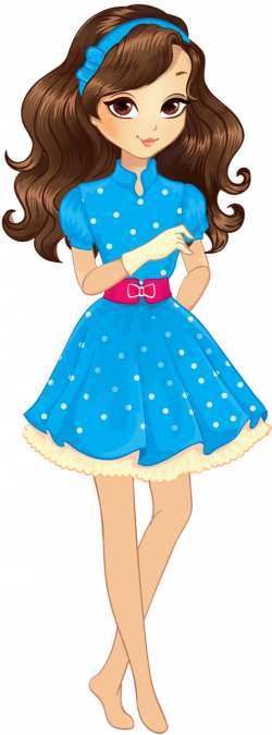 8.png | Clip art, Dolls and Girls