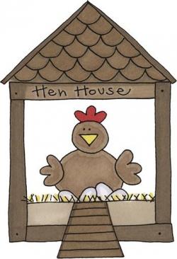 HEN HOUSE * | CLIP ART - FARM - CLIPART | Pinterest | Hens, Clip art ...