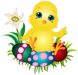 Easter Chicken PNG Clip Art Image | Gallery Yopriceville - High ...