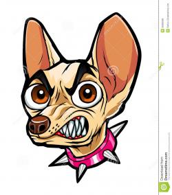 Chihuahua Mean Face Clipart
