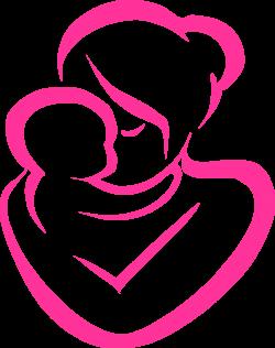 mother and child clipart free - Lifethrumyeyes