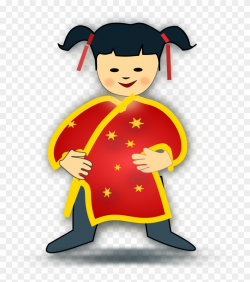 China Clipart Chinese Person - Chinese Girl Clipart, HD Png ...