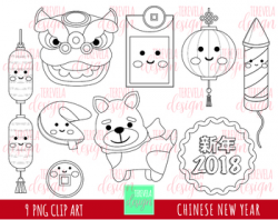 50% sale CHINESSE NEW YEAR digital stamp, china clipart by Terevela ...