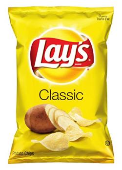 Amazon.com: Lay's Potato Chips, Classic, 10 Ounce