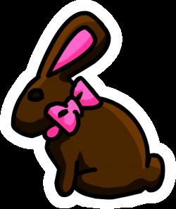 Chocolate Bunny Pin | Club Penguin Wiki | FANDOM powered by Wikia