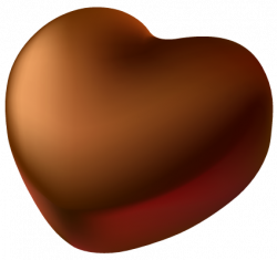 Chocolate Heart PNG Picture Clipart   Gallery Yopriceville - High ...