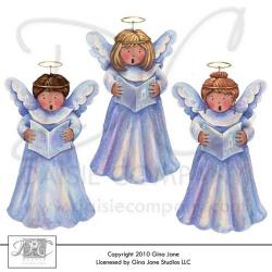 christmas choir clip art | Free Printables, Free Graphics, Free Kits ...