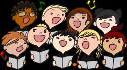 Clipart - Children Choral