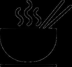 Noodle Bowl Soup Hot Chopstick Eat Svg Png Icon Free Download ...