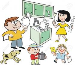 Kitchen Chore Clip Art - Theedlos