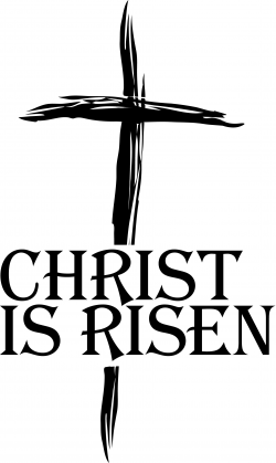 Easy Black Christian Clip Art Easter Religious Clipart And White ...