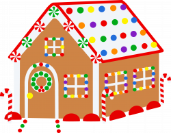 Free Christmas Clipart Gingerbread House | Christmas Ideas