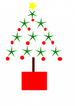 Modern Christmas Tree Drawing at GetDrawings.com   Free for personal ...