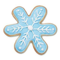 Sugar Cookie Clip Art | snowflake cookies, snowflakes cookies ...