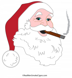 Santa Cigar Shirt