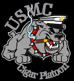 USMC Bulldog Cigar Shirt