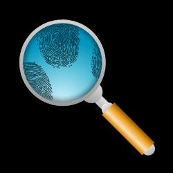 Search For Fingerprints Clipart | Detective Top Secret Agents for ...