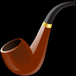 Tobacco clipart pipe - Pencil and in color tobacco clipart pipe