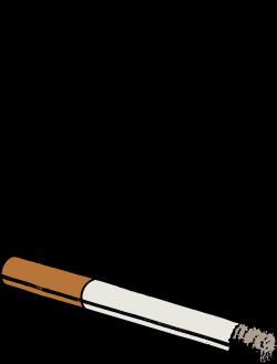 Clipart - Colour Cigarette