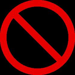 OnlineLabels Clip Art - Cigarette Symbol