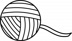 Yarn PNG Black And White Transparent Yarn Black And White.PNG Images ...