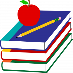 Apple And Book PNG Transparent Apple And Book.PNG Images. | PlusPNG