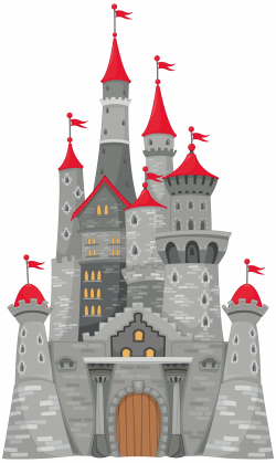 Grey Castle PNG Clipart Image - cute ideas for door hangers ...