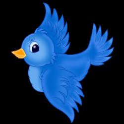Blue Birds - Birds Clip Art | Cartoon Characters | Pinterest | Clip ...