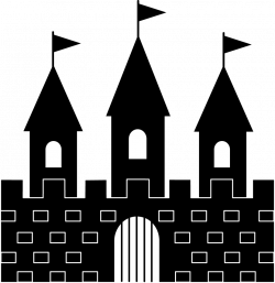 Cinderellas Castle Silhouette at GetDrawings.com | Free for personal ...
