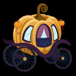 Cinderella Carriage Pumpkin Cartoon Clip art - Cartoon classic ...