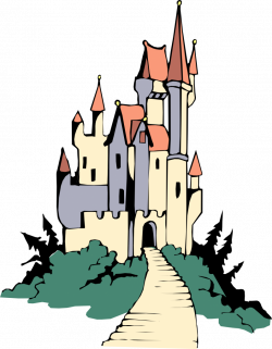 Cinderella Castle Silhouette Clip Art at GetDrawings.com | Free for ...