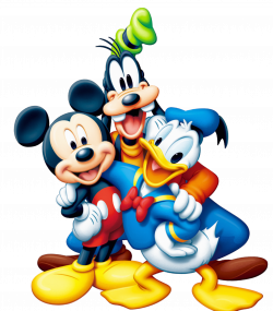 Mickey Mouse and Friends PNG Clipart | sublimacion | Pinterest ...