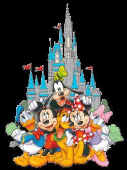 Fab 6 Castle | Mickey and friends | Pinterest | Disney art