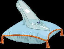Cinderella Shoe Clipart