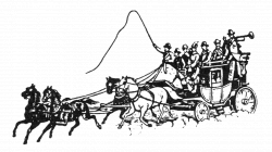 Stage Coach Drawing at GetDrawings.com | Free for personal use Stage ...