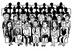 Audience Drawing at GetDrawings.com | Free for personal use Audience ...