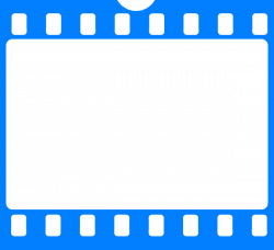 Blue Film Frame Clip Art at Clker.com - vector clip art online ...