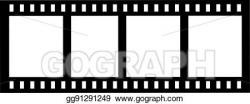 Vector Art - Camera roll film. EPS clipart gg91291249 - GoGraph