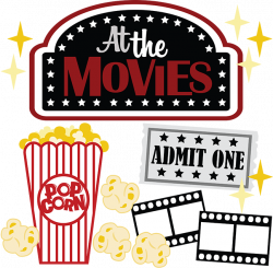 At The Movies SVG scrapbook files movie svg file for scrapbooking ...