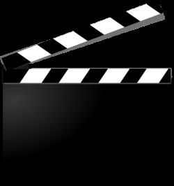 Movie Clapper Clipart   Clipart Panda - Free Clipart Images